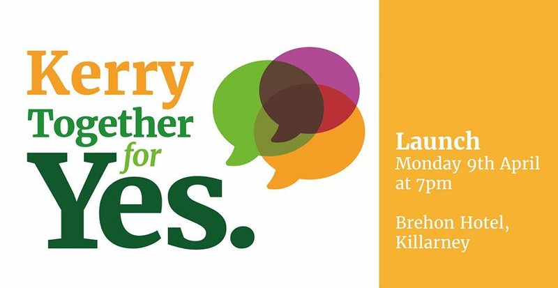 Kerry Together for Yes Launch Graphic