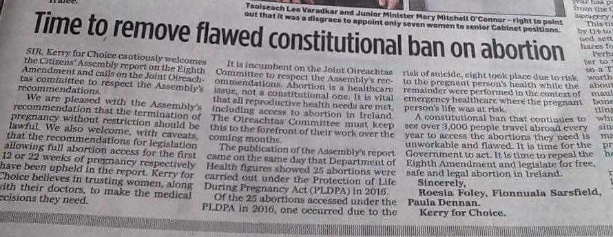 Time to remove flawed constitutional ban on abortion