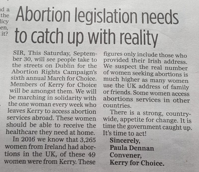 Abortion legislation needs to catch up with reality