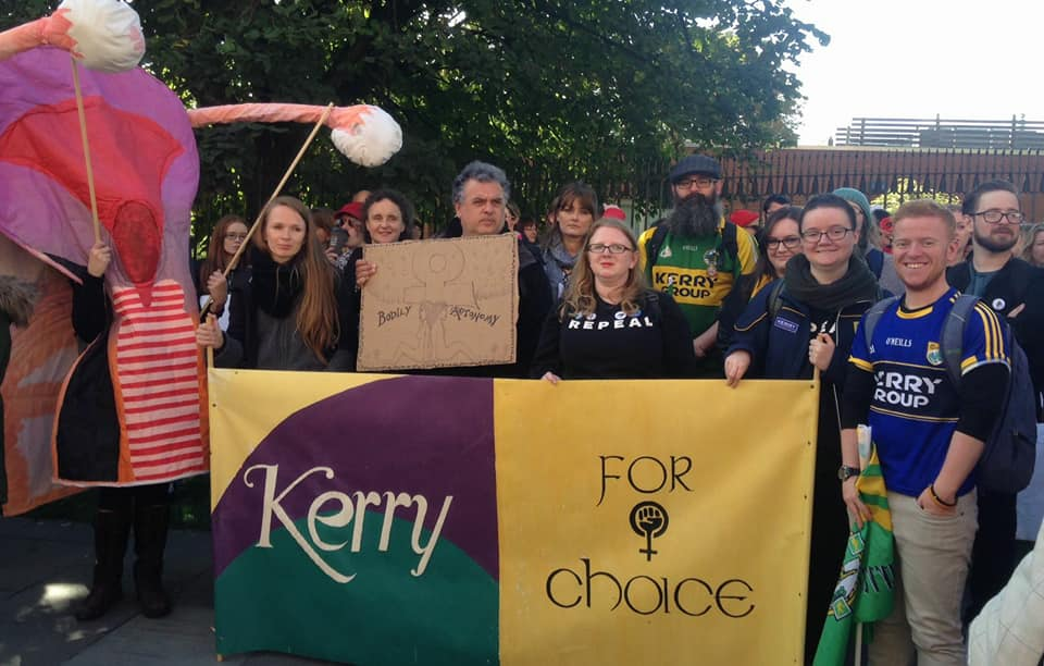 Kerry for Choice among 40,000 who marched in largest ever March for Choice