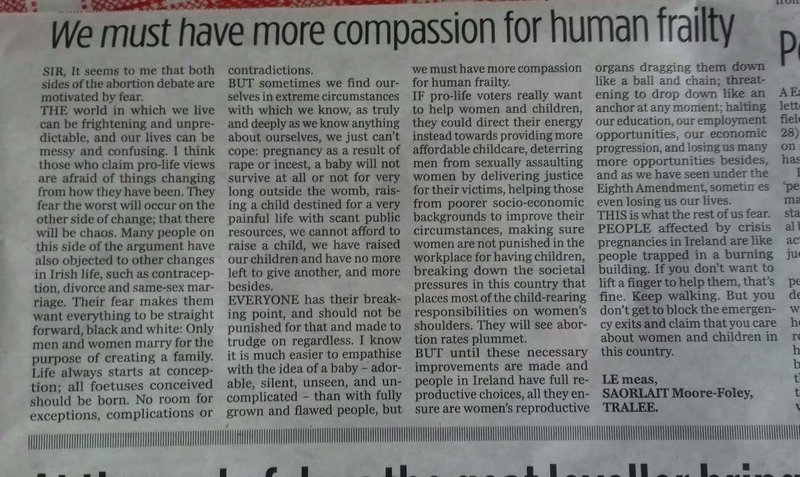 We must have more compassion for human frailty