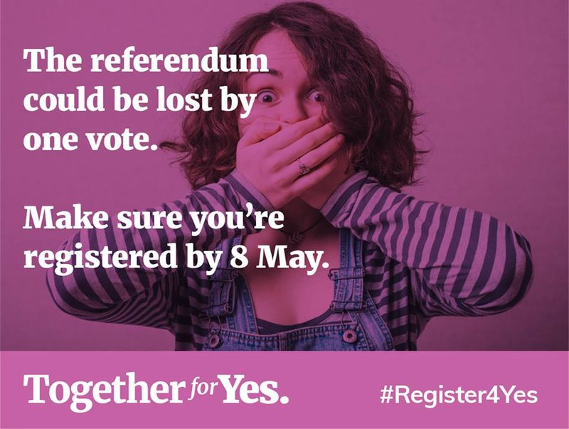 Register4Yes - Making sure you can vote